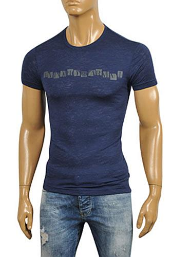 Mens Designer Clothes | EMPORIO ARMANI Men's T-Shirt #112