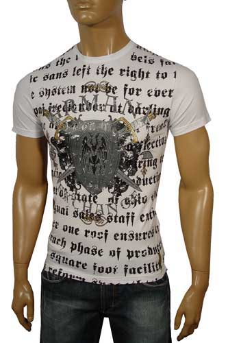 Mens Designer Clothes | ARMANI Round Neck Short Sleeve Tee #19