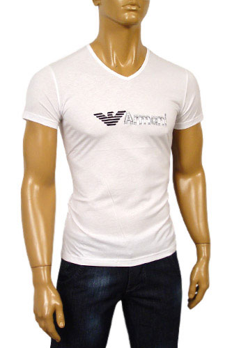 Mens Designer Clothes | EMPORIO ARMANI Mens Short Sleeve Tee #40