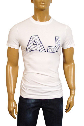 Mens Designer Clothes | ARMANI JEANS Mens Short Sleeve Tee #43