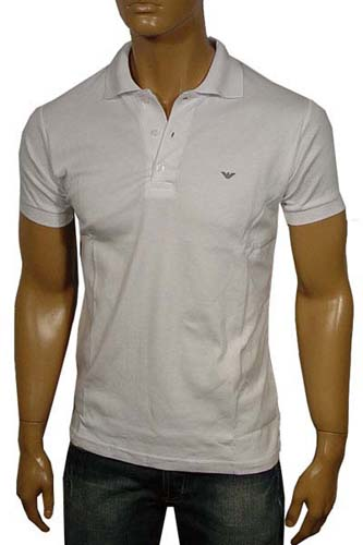 Mens Designer Clothes | ARMANI JEANS Polo Shirt #58