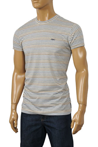 Mens Designer Clothes | ARMANI JEANS Men's Short Sleeve Tee #80