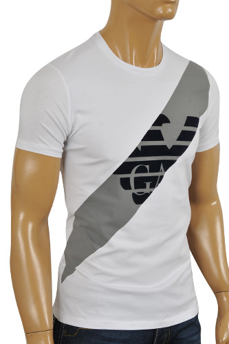 Mens Designer Clothes | ARMANI JEANS Men's T-Shirt #97