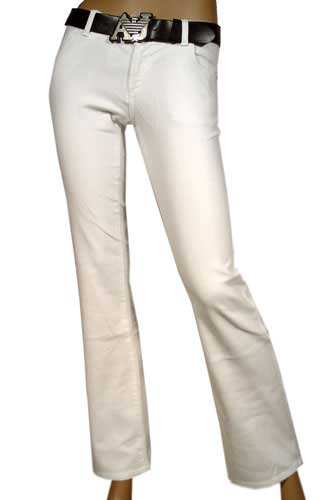 Womens Designer Clothes | EMPORIO ARMANI LADY'S SUMMER Jeans-Pants WITH BELT #56