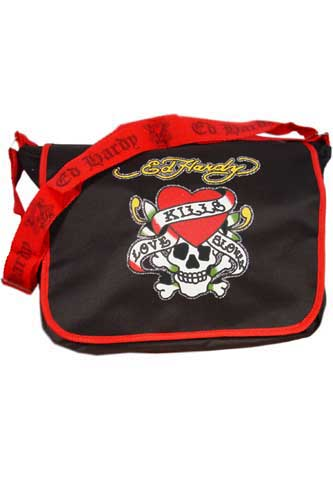 Womens Designer Clothes | ED HARDY By Christian Audigier Multi Print Ladies Bag #4