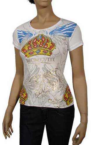 Womens Designer Clothes | CHRISTIAN AUDIGIER Multi Print Lady's Top #71