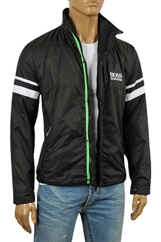 mens designer clothes hugo boss mens zip jacket 45
