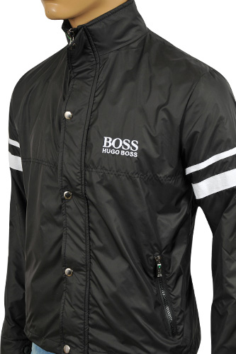mens designer clothes hugo boss mens zip jacket 45