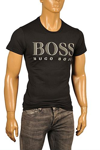 Mens Designer Clothes | HUGO BOSS Men's T-Shirt #65