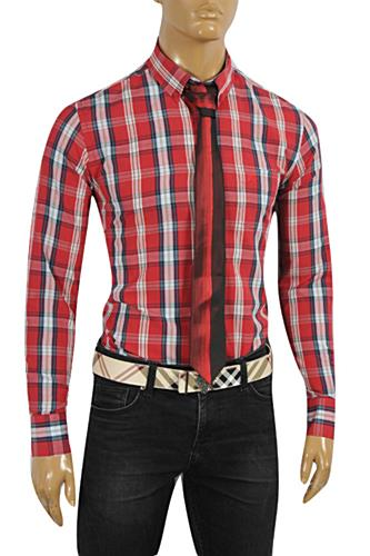 Mens Designer Clothes | BURBERRY Men's Dress Shirt #230