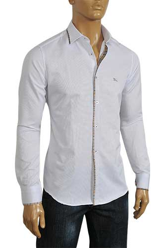 Mens Designer Clothes | BURBERRY Men's Dress Shirt #30