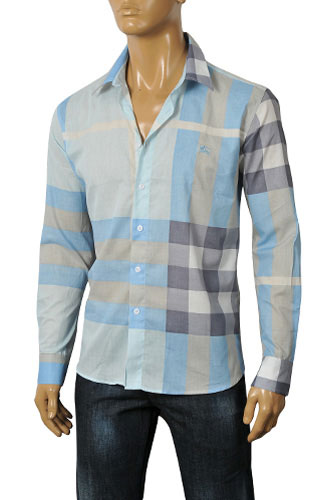 Mens Designer Clothes | BURBERRY Men's Dress Shirt #3