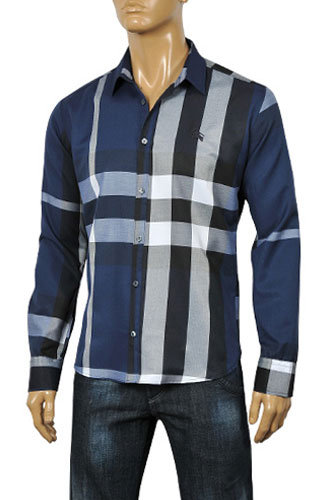 Mens Designer Clothes | BURBERRY Men's Dress Shirt #43