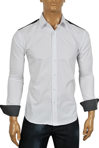 Mens Designer Clothes | BURBERRY Men's Dress Shirt #44