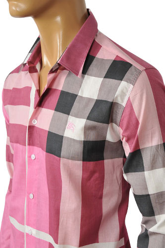 Mens Designer Clothes | BURBERRY Men's Dress Shirt #4