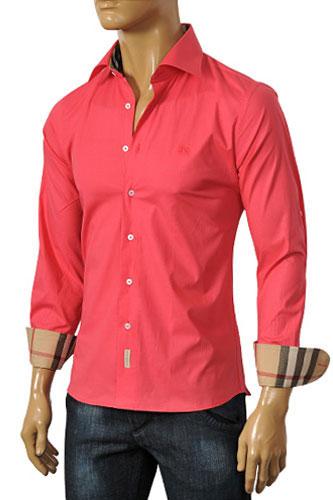 Mens designer clothes burberry men 39 s dress shirt 76 for Mens big and tall burberry shirts