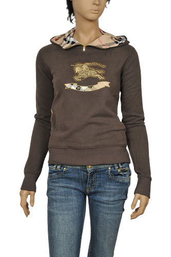 Womens Designer Clothes | BURBERRY Ladies Cotton Hoodie #17