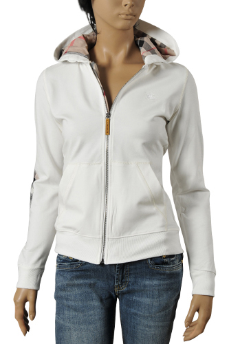 Womens Designer Clothes | BURBERRY Ladies Hooded Jacket #24