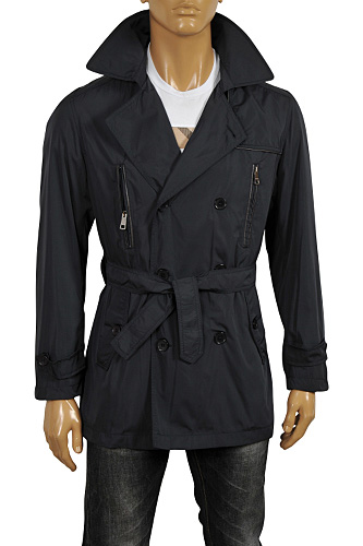 Mens Designer Clothes | BURBERRY Men's Double-Breasted Jacket #37