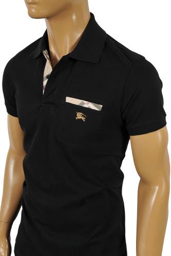 Mens designer clothes burberry men 39 s polo shirt 131 for T shirt burberry men