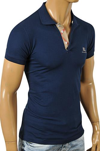 Mens Designer Clothes | BURBERRY Men's Polo Shirt #183