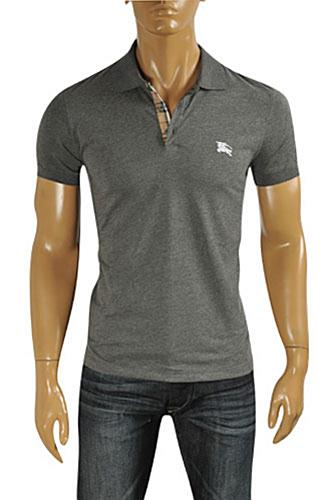 Mens Designer Clothes | BURBERRY Men's Polo Shirt #187