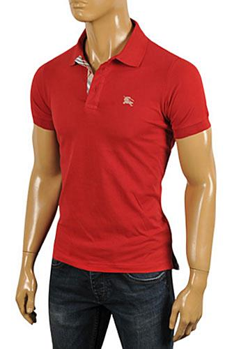 Mens Designer Clothes | BURBERRY Men's Polo Shirt #196