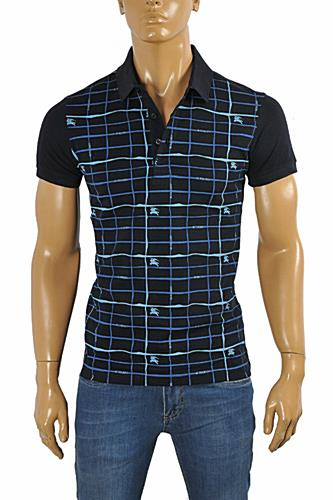 Mens Designer Clothes | BURBERRY Men's Polo Shirt #237