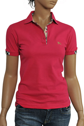 Womens Designer Clothes | BURBERRY Ladies Polo Shirt #96