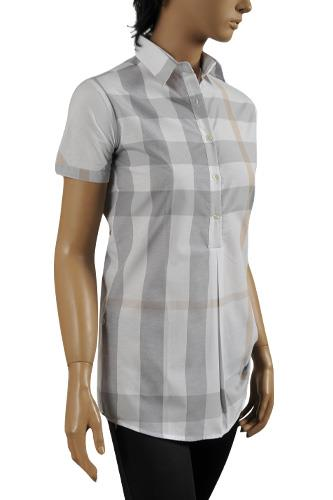 Womens Designer Clothes Burberry Ladies Short Sleeve