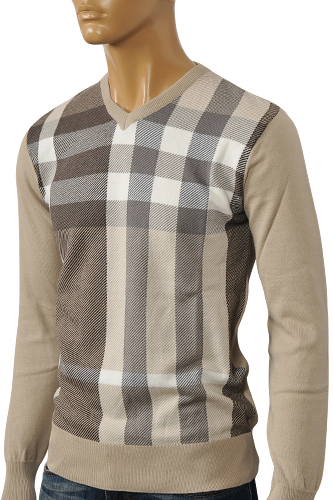 Cashmere V Neck Sweater Mens