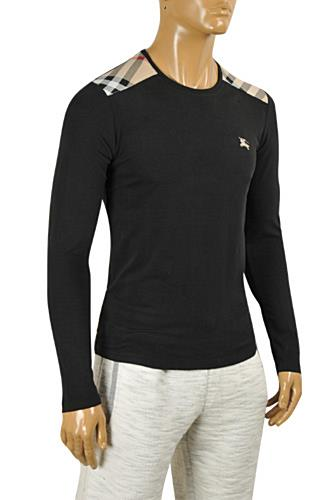 Mens Designer Clothes | BURBERRY Men's Round Neck Knitted Sweater #225