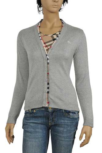 Designer Clothes | BURBERRY Ladies Button Up Sweater #36