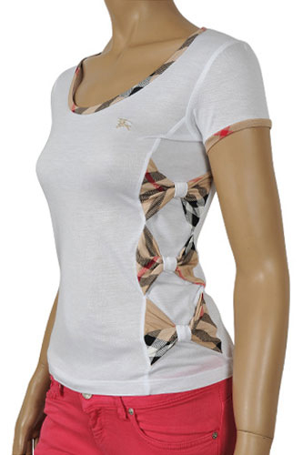 Womens Designer Clothes | BURBERRY Ladies Short Sleeve Top #62