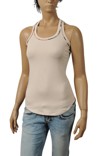 Womens Designer Clothes | BURBERRY Ladies Sleeveless Top #86