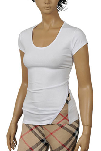 Womens Designer Clothes | BURBERRY Ladies Short Sleeve Tee #102
