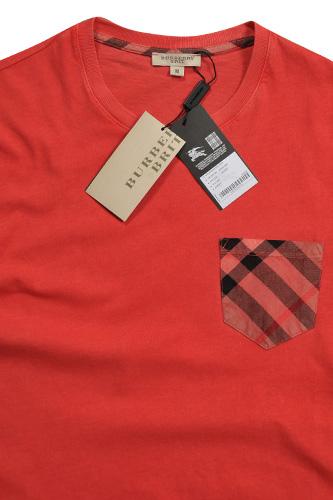 Mens designer clothes burberry men 39 s cotton t shirt 143 for T shirt burberry men