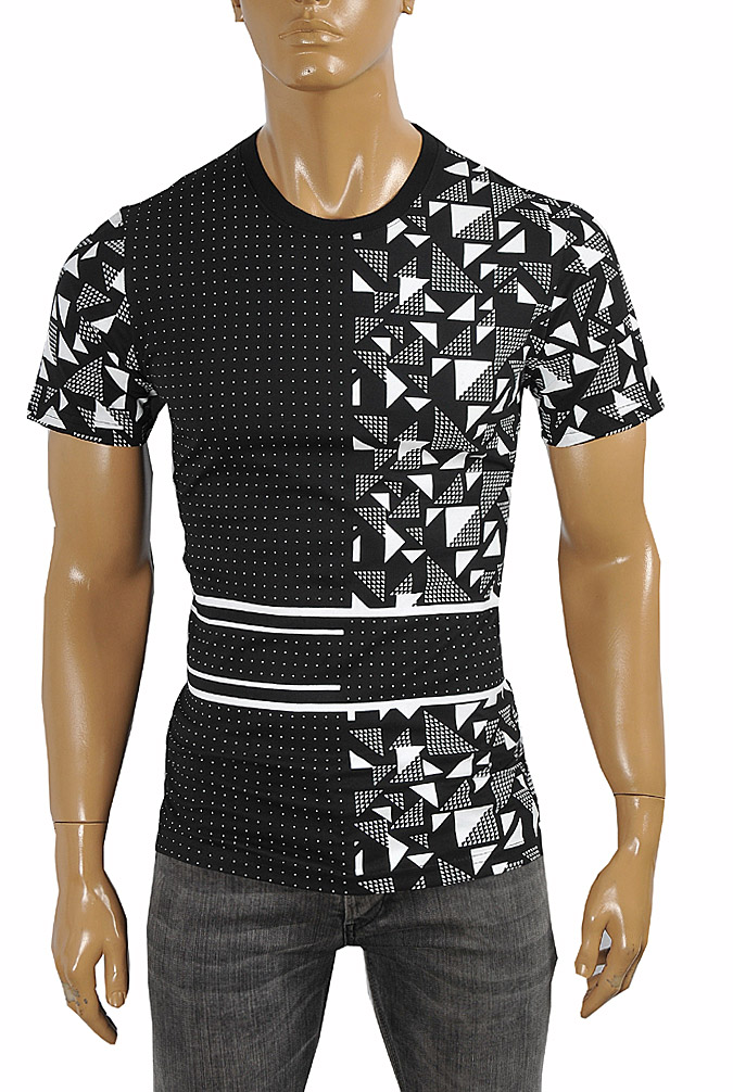 Mens Designer Clothes | BURBERRY Men's Cotton T-Shirt #243