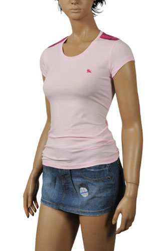 Womens Designer Clothes | BURBERRY Ladies Short Sleeve Tee #84