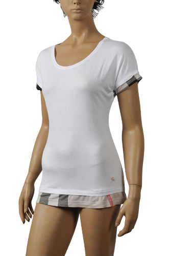 Womens Designer Clothes | BURBERRY Ladies Short Sleeve Tee #87