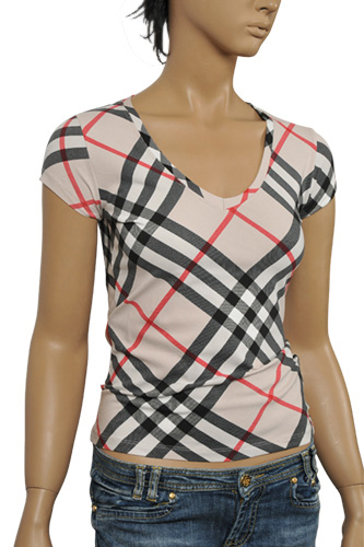 Womens Designer Clothes | BURBERRY Ladies Short Sleeve Tee #88