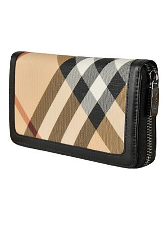 Womens Designer Clothes | BURBERRY Signature Check Wallet #49