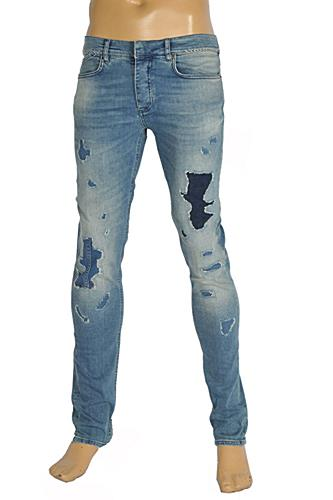 Mens Designer Clothes | Roberto Cavalli Men's Fitted Jeans #109