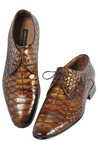 Designer Clothes Shoes | ROBERTO CAVALLI Men's Loafers Dress Shoes #296