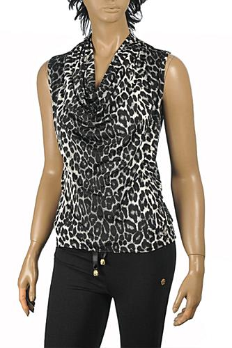 Womens Designer Clothes | ROBERTO CAVALLI Ladies Short Sleeve Top #170