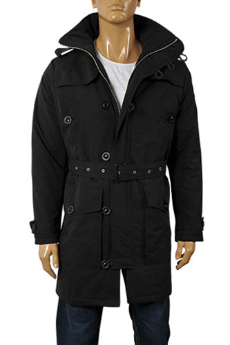Mens Designer Clothes | DOLCE & GABBANA Men's Winter Trench Coat #386
