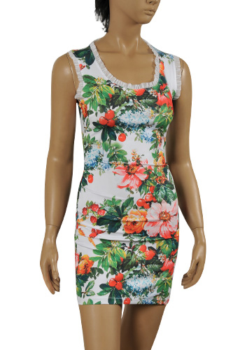 Womens Designer Clothes | DOLCE & GABBANA Sleeveless Summer Dress #219