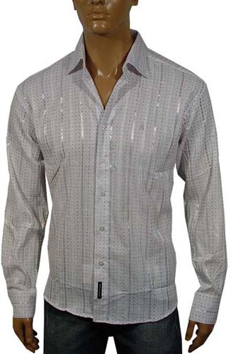 Mens Designer Clothes | DOLCE & GABBANA Dress Shirt, 2012 Winter Collection #221
