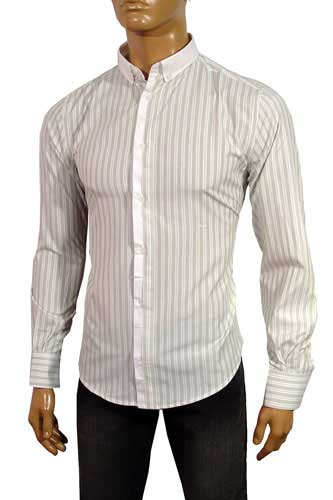 Mens Designer Clothes | DOLCE & GABBANA Men's Dress Shirt #289