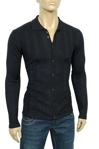 Mens Designer Clothes | DOLCE & GABBANA Men's Fitted Dress Shirt #306